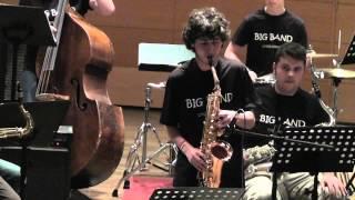 BIG BAND CMUS CORUÑA & ROBERTO SOMOZA - Stolen Moments (Auditorio Cmus Coruña, 30/4/14) [HD]