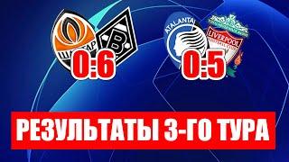 Лига чемпионов 2020 Шахтер Боруссия 0 6 результаты и таблицы ЛЧ