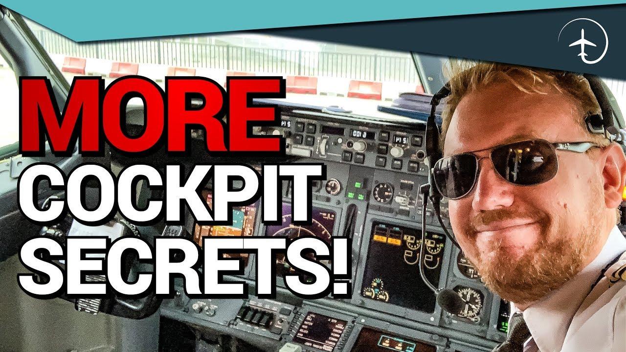 More Boeing 737 Cockpit secrets!