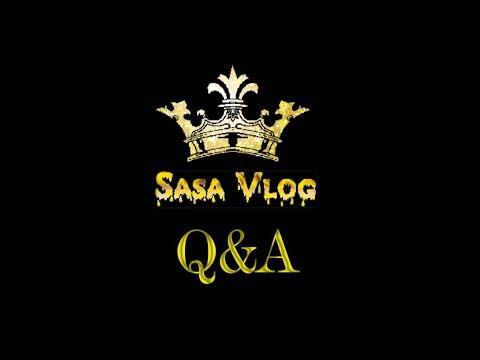 Sasa Vlog  #8 - Q&A - Otóż Bella Ćwir I Drogie Ciuchy