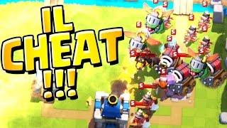Clash Royale - JE ME BATS CONTRE UN CHEATEUR BOT ! OMGGGGG