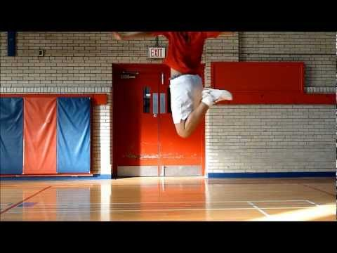 Badminton Footwork by Jimmy Lin, Part 3D: Back Court Jump Smash