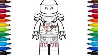 How To Draw Lego Mr E From Lego Ninjago Masters Of Spinjitzu Youtube