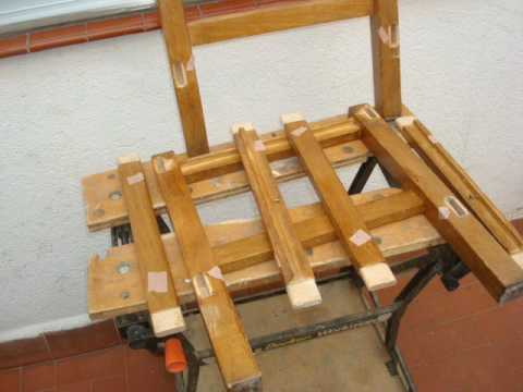 Como arreglar una silla youtube - Materiales para tapizar una silla ...