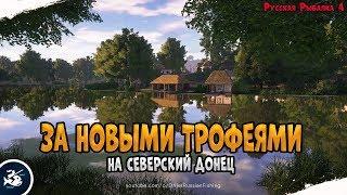 Рыбалка на реке Северский Донец • Рыбалка на ул Махи • Driler - Русская Рыбалка 4