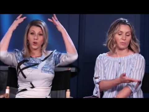 Jodie Sweetin, Beverley Mitchell and Christine Lakin live video from Facebook LA