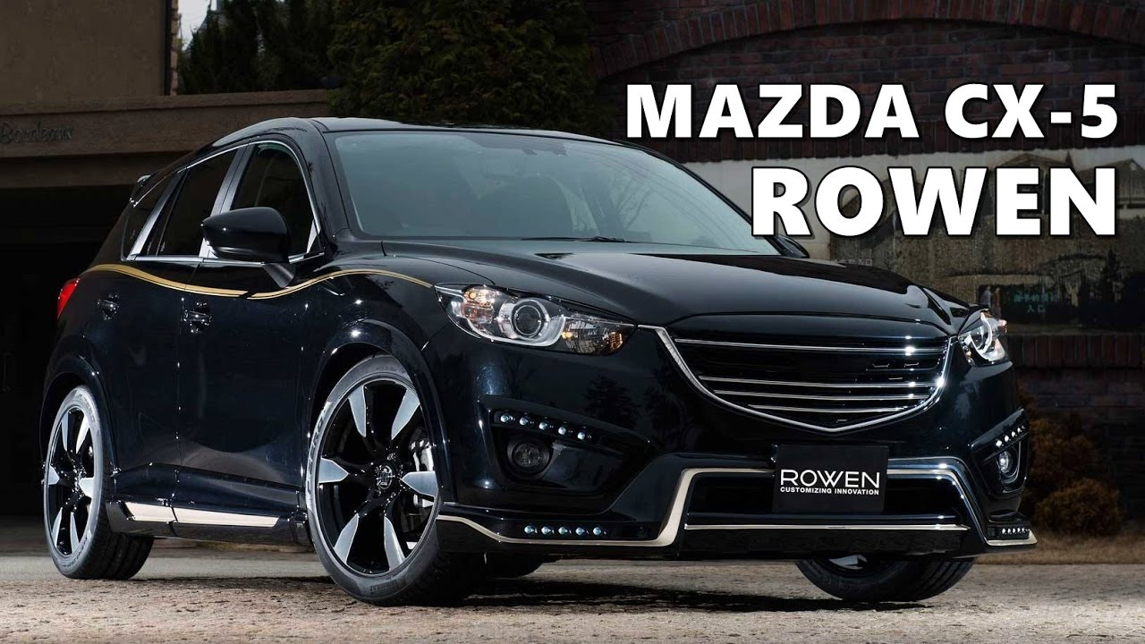 mazda cx 5 styling kit by rowen youtube. Black Bedroom Furniture Sets. Home Design Ideas
