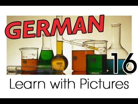 Learn German - German Study Subjects Vocabulary