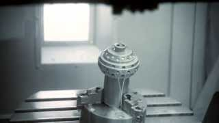 Haas UMC-750: Oilfield Drill Bit Cone Demo