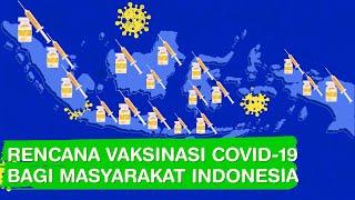 Begini Rencana Vaksinasi Covid-19 Bagi Masyarakat Indonesia