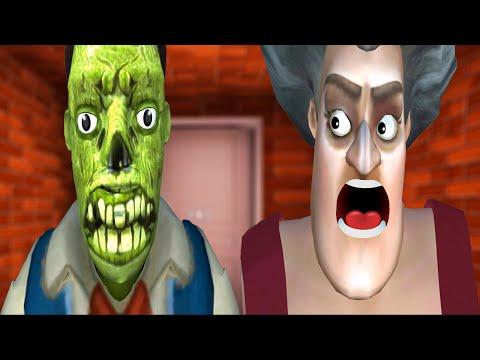 TROLL ÖĞRETMENİN SEVGİLİSİ ZOMBİ OLDU Scary Teacher 3D Oyunu |