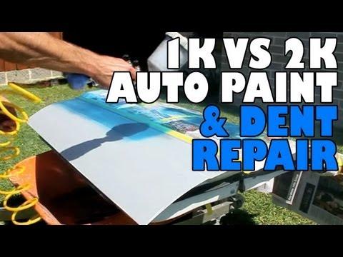 1K Acrylic VS 2 Pack Auto Paint + Dent Repair