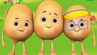 Aloo Kachaloo Beta Kahan Gaye The - Hindi Rhyme - आलू कचालू बेटा कहाँ गए थे | Hindi Nursery Rhymes
