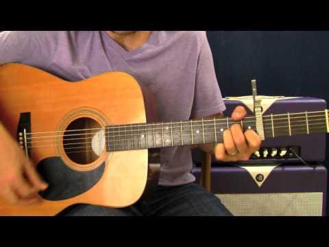 Ellie Goulding Lights - EASY Acoustic Guitar Lesson - Beginner Song - Chords