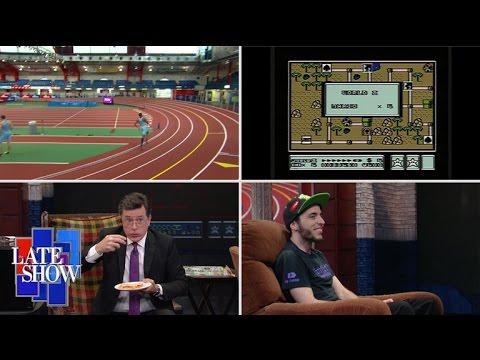 Late Show 3-Legged Race: Video Game Speedrunner Edition