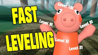 ROBLOX PIGGY INTERCITY FAST LEVELING GUIDE - NEW PIGGY GAME