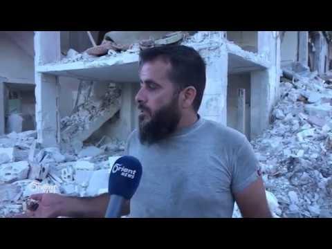 Orient visits scene of Russian airstrike in Idlib's Jisr al-Sheghoor