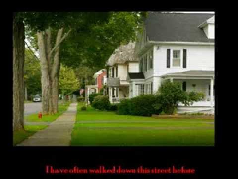 Dean Martin On the Street Where You Live With Lyrics