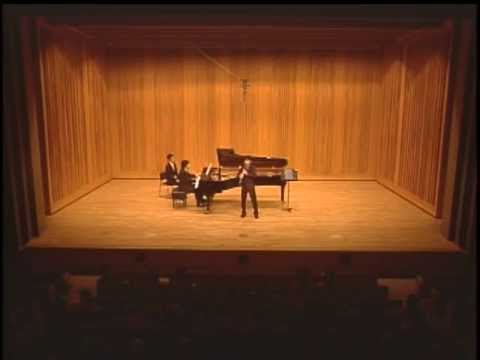 Han Kim Plays Rigoletto Fantasie By Lssi For Clarinet And Piano