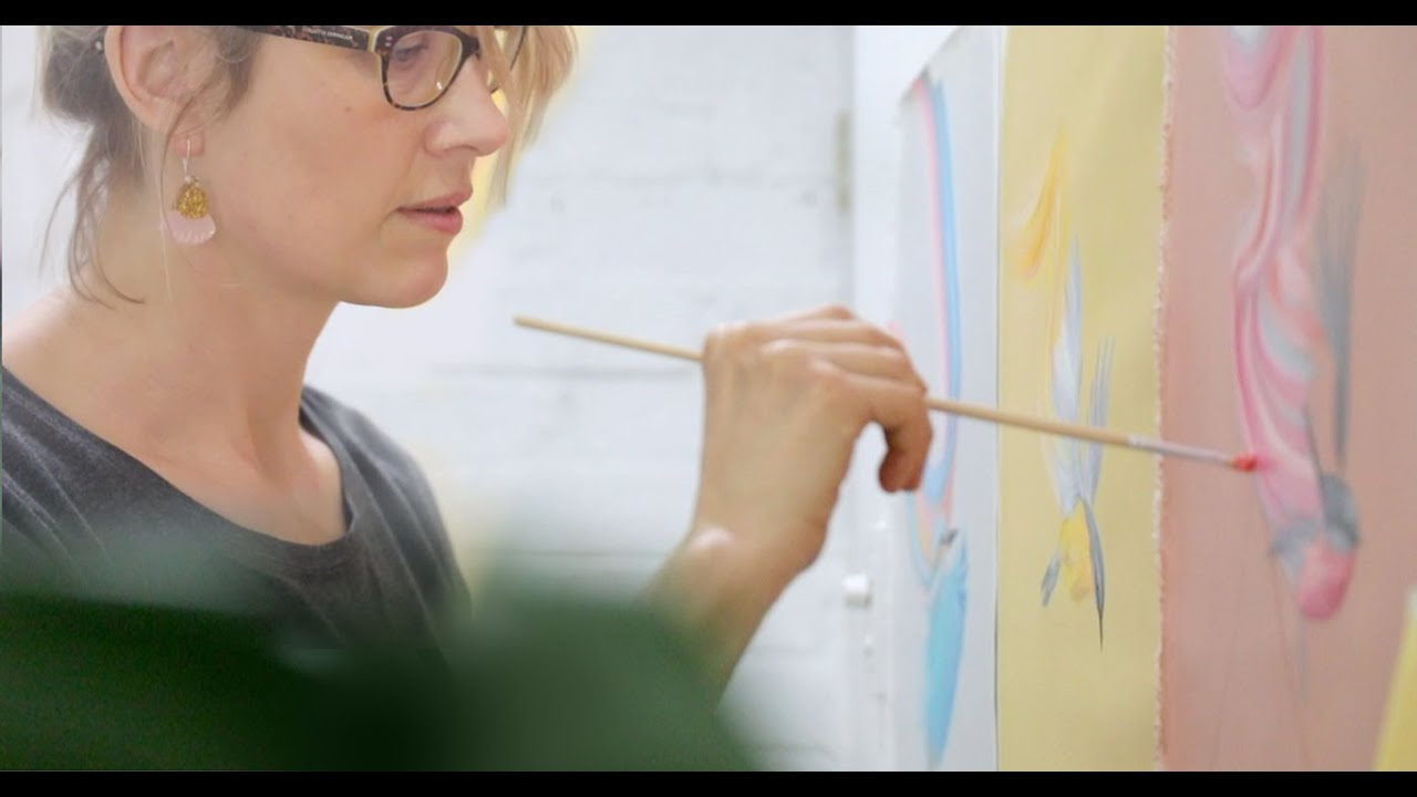 Artist Maria Harding talks about her process and new series