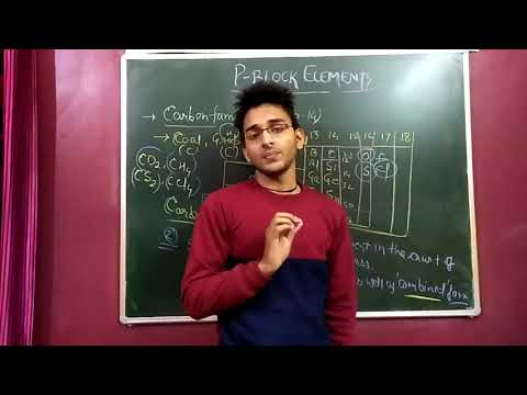 CLASS 11TH: CARBON FAMILY[THE P BLOCK ELEMENTS]