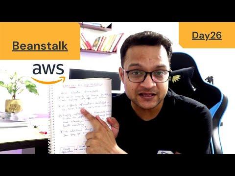 DAY 26 - 100 Days Of AWS | Elastic Beanstalk