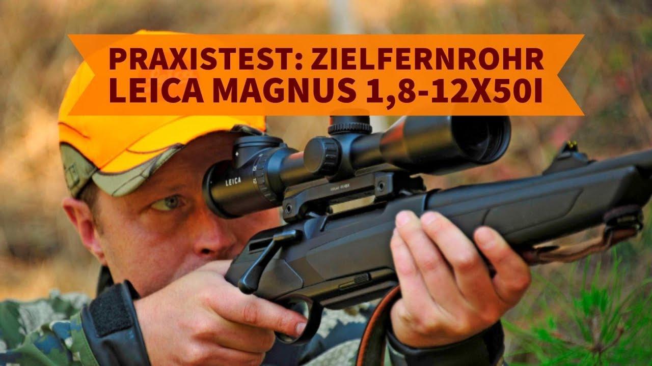Entfernungsmesser Jagd Leica : Leica magnus 1 8 12x50i im test: das beste zoom zielfernrohr für die