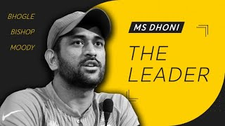 MS Dhoni – the leader