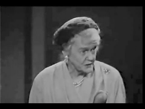 You Bet Your Life #57-26 Arthur Godfrey's mother, Kathryn (Secret word 'People', Mar 20, 1958)