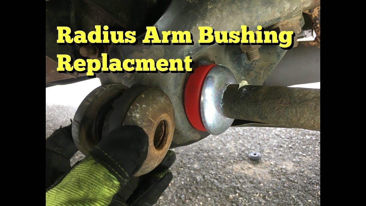 Radius Arm Bushing Replacement F150  YouTube