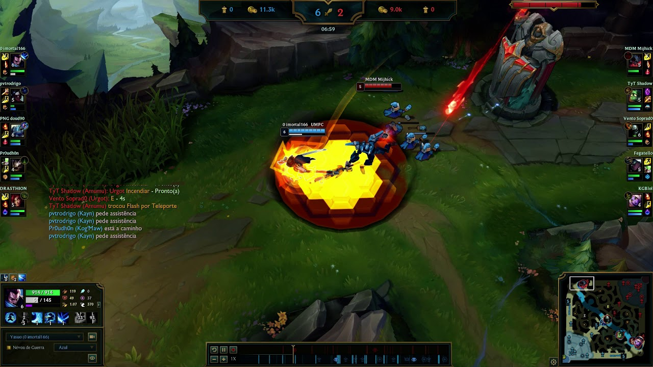 League of Legends Yasuo Gameplay - YouTube