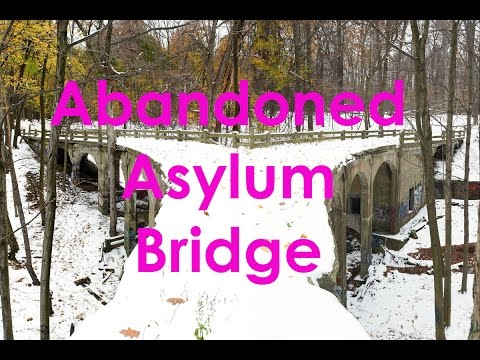Abandoned Mental Hospital Bridge