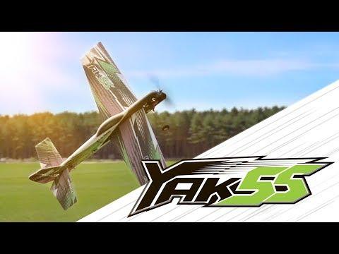 H-King Wargo Yak-55 1096mm EPP Kit - Product Video - HobbyKing Live