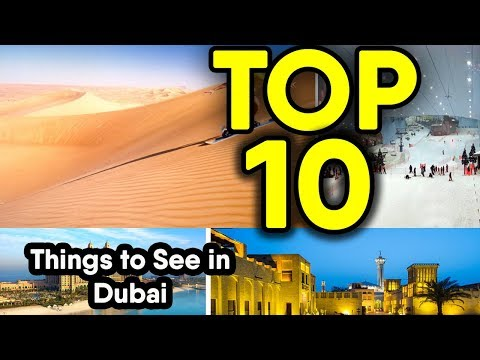 Top 10 Most Amazing Things Only Seen in Dubai | Dubai