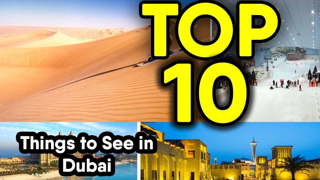 Top Most Amazing Things Only Seen In Dubai Dubai YouTube - The 10 most amazing things to see in dubai