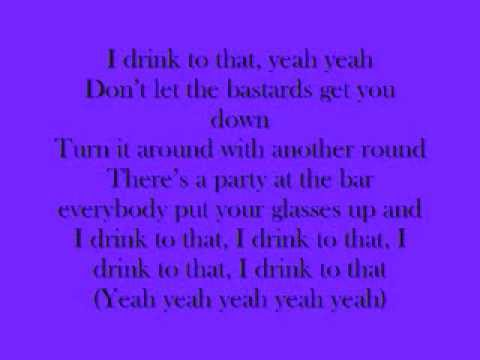 Cheers (Drink to that) Lyrics - Rihanna ft. Avril Lavigne