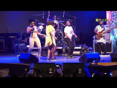 Yemi Alade - Bum Bum Live (FEMUA 11)