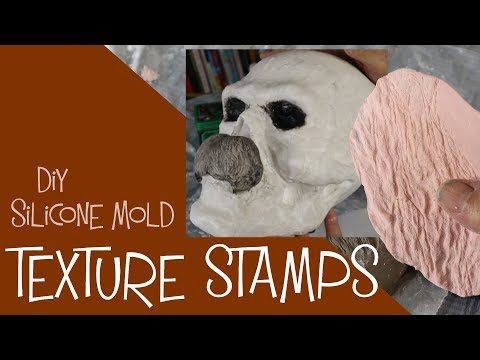 Diy Silicone Mold Texture Stamps for Clay
