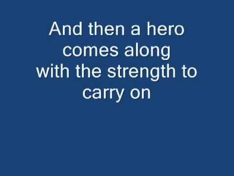 Mariah Carey  Hero Lyrics