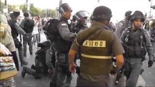 Terrorists being beat up מחבלים חוטפים מכות