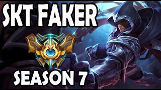SKT T1 Faker TALON Gameplay NEW PARKOUR ABILITY OP!!!