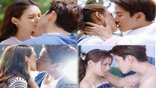 [HOT KISS SCENES] My Little Princess kissing scenes Ep1=Ep16 ❤️❤️ Mike Angelo kiss Zhang Yu Xi