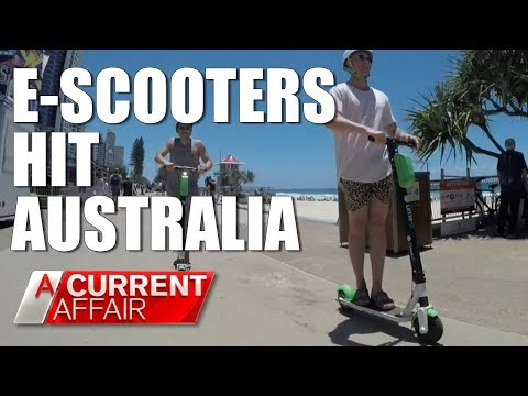 Electric scooters to replace share bikes? | A Current Affair Australia