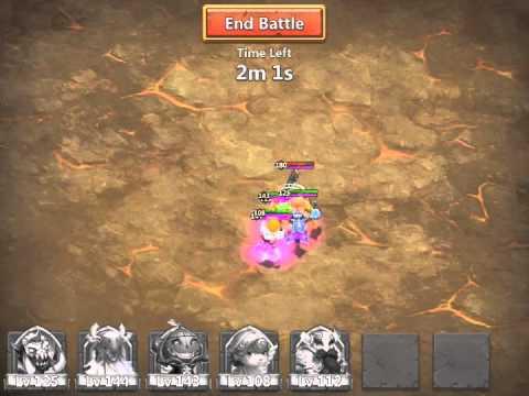 Castle Clash Tier 3 Boss (Stun Lock)