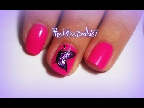 Easy Erfly Nail Art