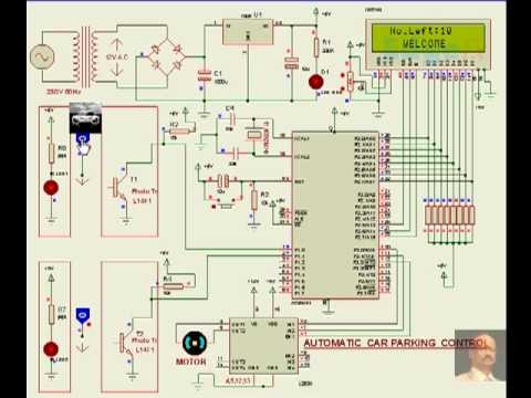 Automatic Car Parking System Electronic Projects Youtube