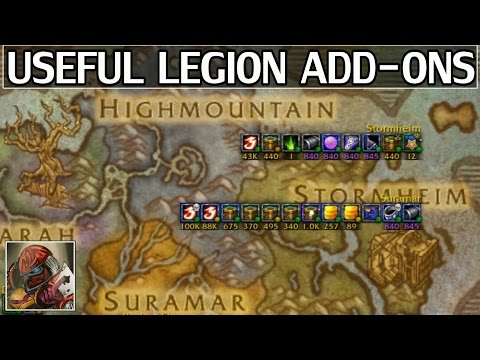 Useful Add-ons for WoW Legion - Comprehensive List