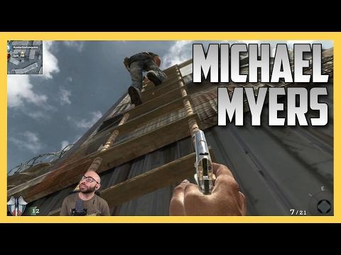 Hunt on Firing Range - Michael Myers in Black Ops 1!