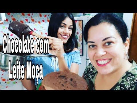 Especial de Bolo Recheado/ Chocolate com leite moça