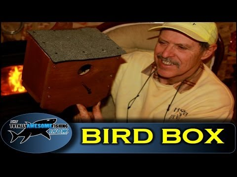 How to build a Bird House from Pallet Wood -Totally Awesome Fishing Show